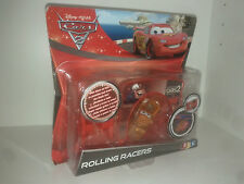 CARS 2 ROLLING RACERS Mater ( Martin )  NEUF Disney