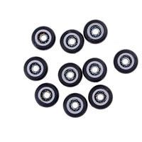 10X Miniature Metal Shield Pulley Wheels Roller 695Zz 5X23X7.5Mm Ball Bearing FE