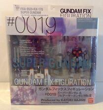 Bandai Gundam Fix Figuration Super Gundam And Full Armor MKII 0019 Action Figure
