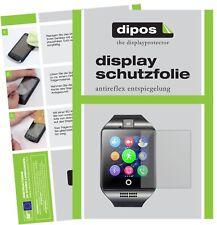 6x InterActive SmartWatch Q18 Schutzfolie matt Displayschutzfolie Folie Display