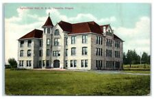Early 1900s Agricultural Hall, Oregon Agricultural College Corvallis OR Postcard