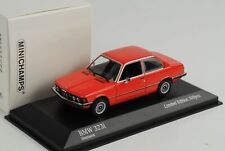 BMW 323i E21 1975 Hennarot 1:43 Minichamps diecast