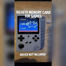 Anbernic RG351v Handheld 128gb Memory Card - 10K Retro games ArkOS CFW