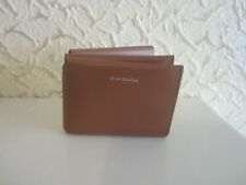 Acne Studios Tri-Fold Leather Wallet