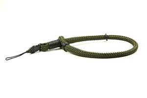 Lance Camera Straps USA String Loop Wrist Cord Rope Camera Strap - Olive Green