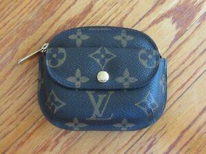 Louis Vuitton Monogram Porte Monnaie Shilling coin case wallet purse   REDUCED!
