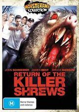 Return Of The Killer Shrews (DVD, 2013)-REGION 4-Brand new-Free postage