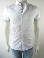 Bikkembergs Bluse Herren Shirt Hemd E11K620 Neu 41 S M