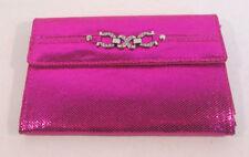 Porte-monnaie et portefeuilles roses organiseur pour femme