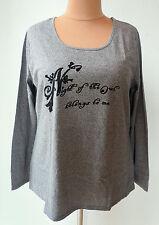 Mehrfarbige Damenblusen,-Tops & -Shirts mit Rundhals und Baumwollmischung ohne Mehrstückpackung