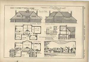 1904 Designs For A Studio For A Small House