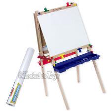 Melissa & Doug Child Art Easel + Bonus Paper Roll - 1282 & 1486 Painting Crafts