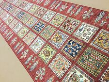 "2'.7"" X 9'.8"" Multicolor Oushak Persian Oriental Rug Runner Hand Knotted Wool"
