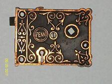 Antique PENN Rim Door Lock