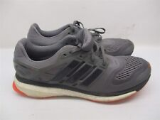 the latest 23adc f0919 ADIDAS Mens Size 11.5 Athletic ENERGY BOOST TECHFINT Gray Sneakers B969