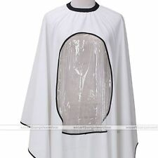 Pro Waterproof Hair Salon Cutting Hairdressing View Window Barber Cape Gown #1