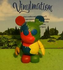 "Disney Vinylmation Park - 3"" Series 2 Urban Rainbow Patches Patchwork Buttons"