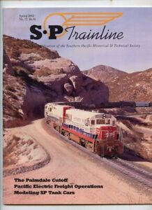 Southern Pacific SP TRAINLINE Magazine - Spring 2002