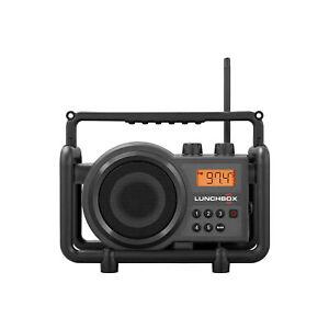 Sangean SG-102Compact FM AM Ultra Rugged Radio Receiver Iron Gray