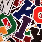 Chenille Varsity Letter Patches N-Z (11 Colors) School Letter Patch MADE IN USA.