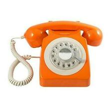 GPO 746 Rotary Telephone - Orange Christmas Gift Retro