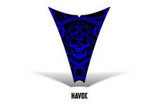 Ski Doo REV Hood Decal Graphic Kit Ski-Doo Sled Snowmobile Wrap 03-09 HAVOC BLUE
