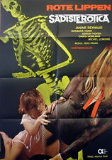 Jess Franco ROTE LIPPEN - SADISTEROTICA original Kino Plakat A1