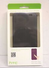 HTC One M8 Dot View Folio Case Dark Gray