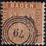 Altdeutschland -Baden- Mi.Nr: 15 gestempelt