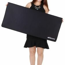 Large Size Anti Slip Natural Rubber For Computer Gaming Black Mousepad Desk Mat
