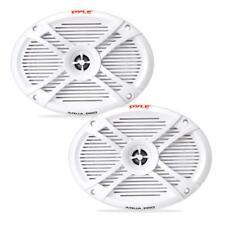 New listing Dual 6'' x 9'' Waterproof Marine Speakers, 2-Way Full Range Sound, 300 Watt Pair