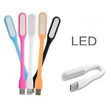 5 Pcs Flexible Mini USB LED Light Lamp Reading Bright For Notebook Laptop PC LO