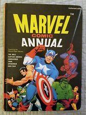 MARVEL COMIC ANNUAL, CAPTAIN AMERICA, HULK, SPIDER-MAN, WORLD DISTRIBUTORS, 1969