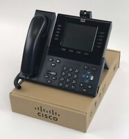 Cisco 9951 Unified IP Phone CP-9951-CL-K9 VoIP POE - 1 Year Warranty - NEW - LOT