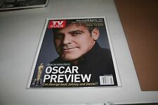 7x Lot of Tv Guides~ Magazines Star Wars-Clooney-Lost-Battles tar