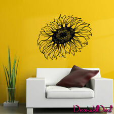 Wall Decal Sunflower Flower Moroccan Nature Plant Sleeping Room Glass M1594