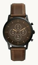 Fossil Watches hybrid smart watch HR FTW7008 Men's Brown *New Factory Sealed*