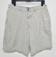 ABERCROMBIE & FITCH Shorts - Men's Size 34 - Flat Front Casual A&F Light Beige