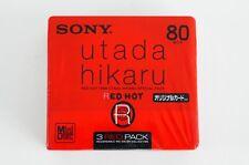 SONY RED HOT 1999 UTADA HIKARU SPECIAL 80 3PACK MD MINIDISC SEALED JAPAN