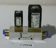 Bürkert 6013 und 6011 Magnetventile Flutventileinheit 6011+6013 (C2608-R25)
