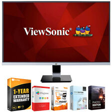 "ViewSonic VX2778-SMHD 27"" WQHD 1440p Frameless LED Monitor w/ Warranty Bundle"