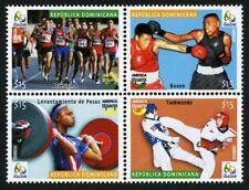 Dominikanische Republik 2016 Olympiade Rio UPAEP Gewichtheben Boxen Judo MNH