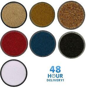 Coloured Sand Aquarium Fish Tank Substrate 1/2/5/10/20KG Black/White/Natural/Red