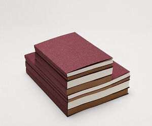 The PURPLE Cover sketchbook Heavy JOURNAL sewing White/Kraft paper 60/120 sheets