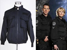 Stargate SG1 Black Uniform Jacket Costume *Tailored*