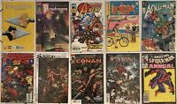 10 Comic Books Spider-Man Red Sonja King Conan Aquaman PEP Hawkeye and more