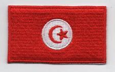 Embroidered TUNISIA Flag Iron on Sew on Patch Badge HIGH QUALITY APPLIQUE