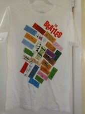 The Beatles Classic Rock Music Concert 1964 Tickets T shirt Large Apple 2013 Euc