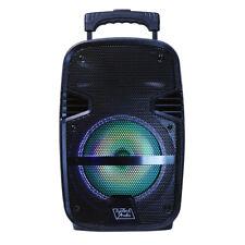 Toptech Spike 8 Portable Bluetooth LED Speaker - Black