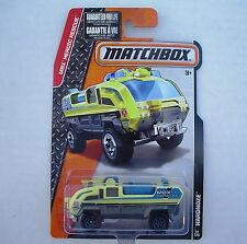 YELLOW. Hardnose Airport Fire Truck. CFW26. MBX Heroic Rescue. New in Package!